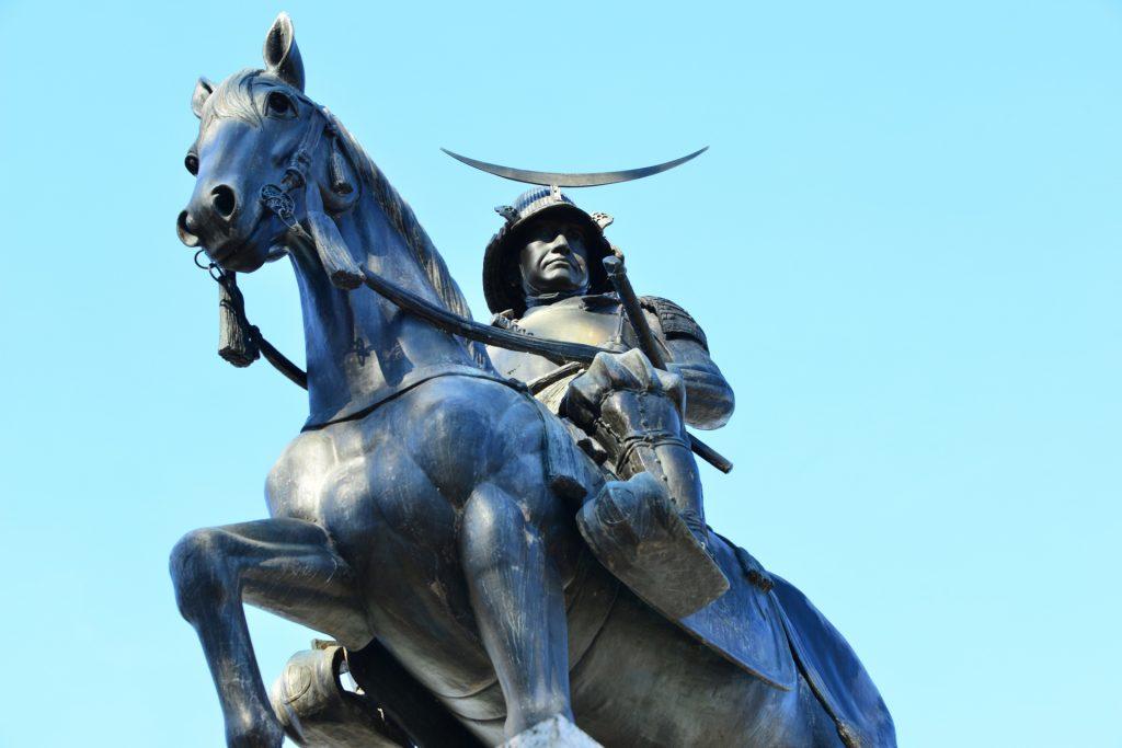宮城県の伊達政宗像の画像